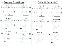 solving equations by baconeducation teaching resources tes