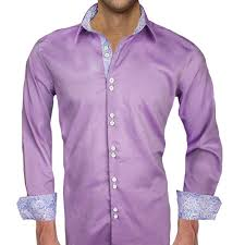violet purple purple with blue dress shirts