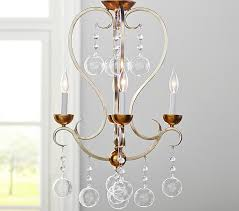 Candle Chandelier Pottery Barn Mckinley Glass Chandelier Pottery Barn Kids