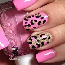 gold pink cross nails www sbbb info