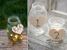 jar decorations for weddings rustic wedding decorations jars stunning wedding decor