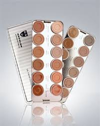 ultra foundation 24 color palette kryolan makeup my fav foundation palette