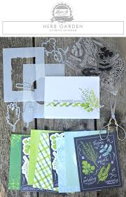 make it market mini kit herb garden papertrey ink clear stamps