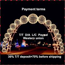 led new years led outdoor palm tree light for decoration and new year