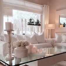 Nice Cozy Living Room Romantic Rustic Chic White Cream Creme - Romantic living room decor