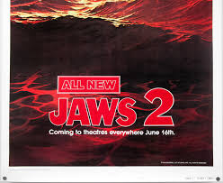 jaws 2 one sheet teaser style b usa