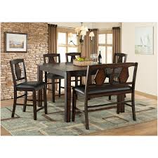 tuscan hills 6 piece counter height dining set by vilo home