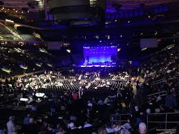 madison square garden section 103 concert seating rateyourseats com