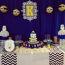minions baby shower minion baby shower it was so getting creative with the minion