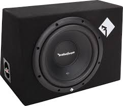 use car subwoofer in home theater rockford fosgate prime r1 1x10 sealed enclosure with one 10