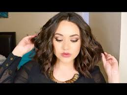 how to get beachy waves on shoulder lenght hair how to beachy waves for short to medium length hair youtube