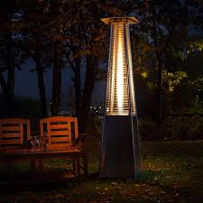 commercial propane patio heater patio red ember hammered bronze commercialter with table propane
