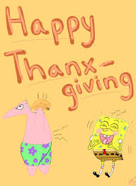 spongebob thanksgiving by katolove on deviantart