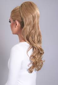 clip in ponytail volume honey 27 613 curly clip in ponytail pink