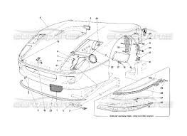 ferrari front drawing ferrari f40 front hood page 108 order online eurospares
