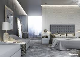 comfortable luxurious bedroom for fresh home interior design with