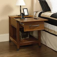 sauder coffee and end tables 413350 carson forge washington cherry smartcenterr side table