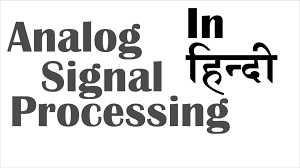 analog signal processing in hindi lecture youtube wiring diagram