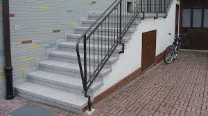 treppe naturstein außentreppe aus granit beton naturstein waschbeton wagner
