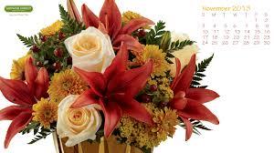 November Flowers Freebie Friday Free November 2013 Desktop Calendar Wallpaper