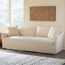 Slipcovered Sofa Bed Eco Friendly Linen Couches Sofas U0026 Sectionals Vivaterra