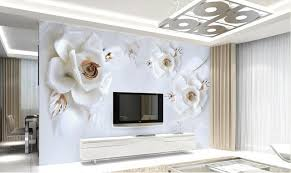 wandbild schlafzimmer 3d blume wandbild weiß für wohnzimmer schlafzimmer hauptwanddekor