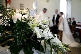 church and ceremony flowers wedding flowers galway