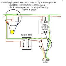 wiring diagram for ceiling extractor fan home electrics