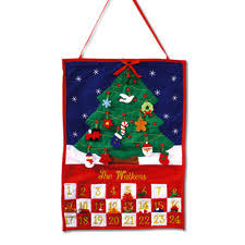 hanging advent calendar count the days to by