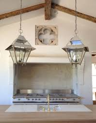 Farmhouse Kitchen Lighting by Patina Farm Update Kitchen Lights Plumbing Fixtures And Marble