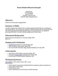 Licensed Practical Nurse Sample Resume by Sample Resume For Practical Nursing Student Resume Ixiplay Free