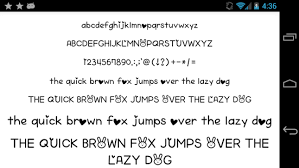 android font fonts for flipfont 50 written android apps on play