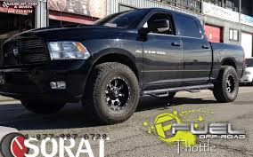 dodge ram 1500 fuel throttle d513 wheels matte black u0026 milled