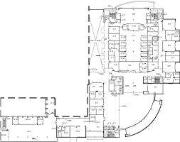 Student Center Floor Plan by University Student Center Musc Second Floor Map