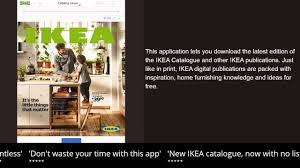 ikea catalogue iphone u0026 ipad review youtube