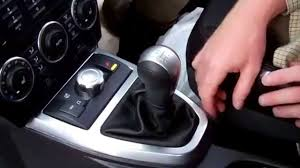 how to remove manual gear knob gaiter on land rover freelander 2