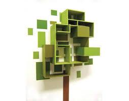 tree shelf inhabitots
