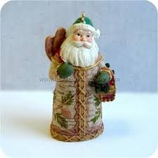 2008 miniature santas from around the world canada hallmark