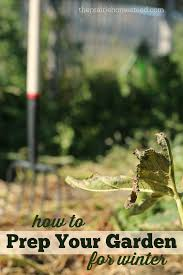 clean up your fall garden and give it a boost for next year u2022 the