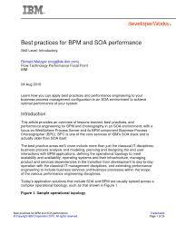 bpm u0026 soa performance best practices business process management