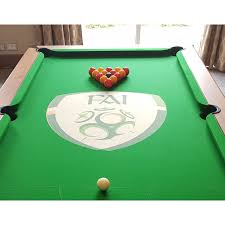 snooker and pool table cloth recovering branded