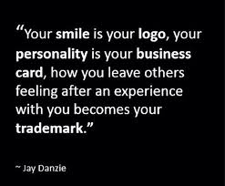 Business Cards Quotes Your Smile Is Your Logo U2026 U201d Beautiful Life