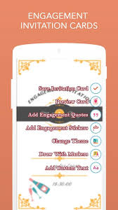Engagement Invitation Quotes Engagement Invitation Cards Android Apps On Google Play