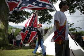 State Flag Of Virginia Backlash Spreads As Supporters Of Confederate Flag Rise Up To