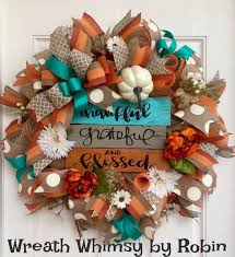 Thanksgiving Deco Mesh Wreaths 50 Best Fall Wreaths Images On Pinterest Front Door Wreaths