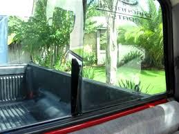 dodge ram rear window 1997 dodge ram rear split window leak and repair
