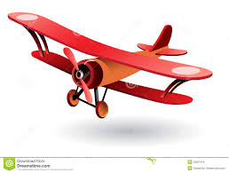 vector old fashion biplane stock photo image 29267410