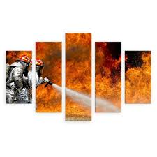 Canvas Painting For Home Decoration by Online Get Cheap Firefighting Art Aliexpress Com Alibaba Group