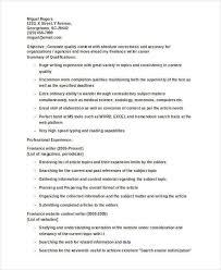 freelance writer resume sample 58 template billybullock us
