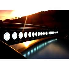 Single Row Led Light Bar by Flashtech Black Led Light Bar Single Row 6 Inch